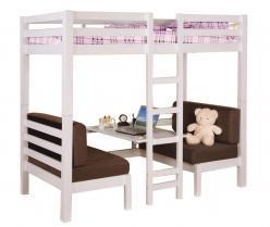 Подростковая двухъярусная кровать-трансформер Друзья (Мебель-Холдинг)
