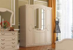 Шкаф 4-х дверный «Верона» (Мебельград)
