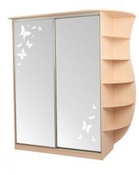 Шкаф Оскар-4 бабочки (Мебельсон)
