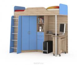 НИКА Кровать-чердак со столом  427Т (НИК Мебель)