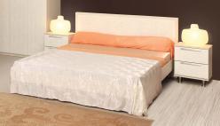 Кровать двойная 06.15-03 Розалия + орт. основание (Олимп-мебель)