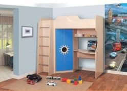 Кровать двухъярусная Д2 (Олимп-мебель)