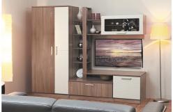 Стенка Альфа-10 (Шкаф А-7) (Олимп-мебель)