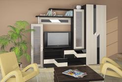 Стенка Олимп-М06+Шкаф 06.14-06 (Олимп-мебель)