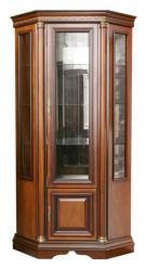 Угловой шкаф витрина Омега-3-1 (Минскпроектмебель)