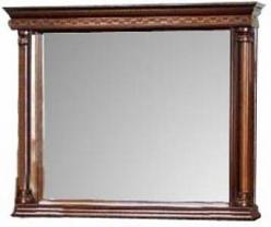 Зеркало в раме навесное дуб Омега-18 (Минскпроектмебель)
