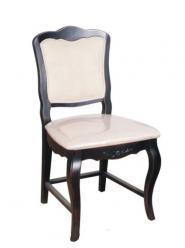 Прованс Стул с мягким сиденьем (черный состаренный) (Mobilier de Maison)
