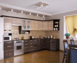 Угловая кухня Венеция 4 (РОСТ)