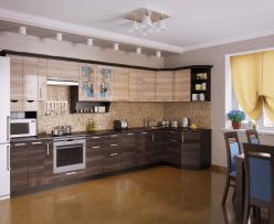 Угловая кухня Венеция 5 (РОСТ)