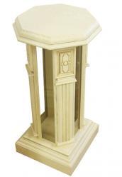 Подставка декоративная Верона-25-1 М (ваниль с патиной) (Минскпроектмебель)