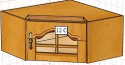 Вилия-М Антресоль 12 С / (12 ГС) (Вилейская мебельная фабрика)
