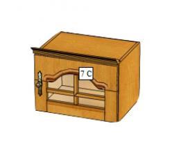 Вилия-М Антресоль 7 С / (7 ГС) (Вилейская мебельная фабрика)