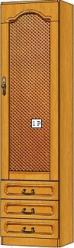 Вилия-М Шкаф 1 Р / (1 ГР) / (1 ГР-01) (Вилейская мебельная фабрика)