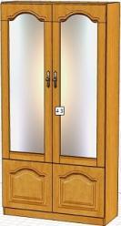 Вилия-М Шкаф 4 З / (4 ГЗ) (Вилейская мебельная фабрика)