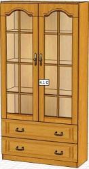 Вилия-М Шкаф 4,1 С / (4,1 ГС , 4Сз) (Вилейская мебельная фабрика)
