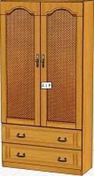 Вилия-М Шкаф 4,1 Р / (4 ГР)  (Вилейская мебельная фабрика)