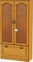 Вилия-М Шкаф 4,2 Р / (4,2 ГР) (Вилейская мебельная фабрика)
