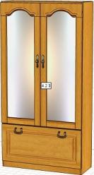 Вилия-М Шкаф  4,2 З / (4,2 ГЗ) (Вилейская мебельная фабрика)