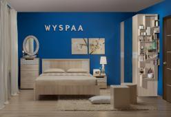Спальня WYSPAA  (Глазов-мебель)