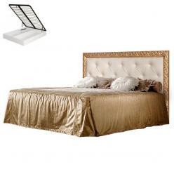 Кровать Тиффани с мягким элементом, стразами и подъёмным механизмом (Ярцево)