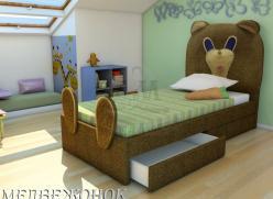Кровать Медвежонок (ВМК Шале)
