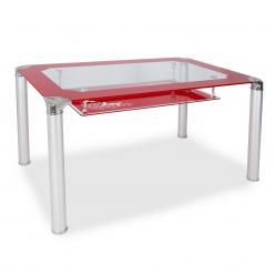 Обеденный стол S206 [RED] (Бентли Трейд)