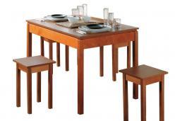 Обеденный стол Стол обеденный ЛЮКС раздвижной (Боровичи)