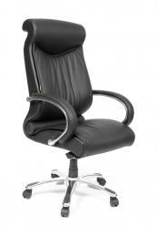Кресло руководителя CH 420 [Черная кожа] (Chairman)
