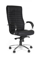 Кресло руководителя CH 480 [Экопремиум черная матовая] (Chairman)