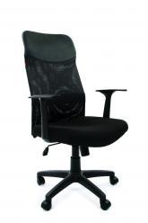 Кресло руководителя CHAIRMAN 610 LT [15-21 черный] (Chairman)
