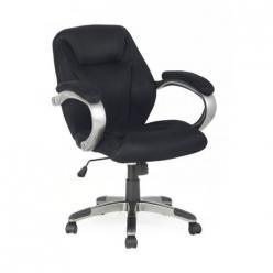 Кресло руководителя H-8703F-2A [Черный] (College)