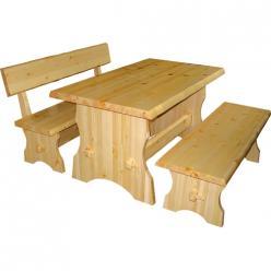 Комплект садовой мебели Cт s + Ск s + Ск ss (Добрый мастер)