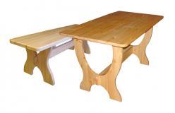 Комплект садовой мебели Ом л + Ом (Добрый мастер)