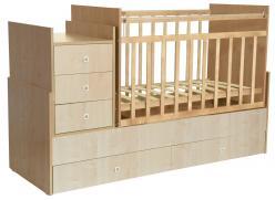 Кроватка 1200 (Воткинская ПК)