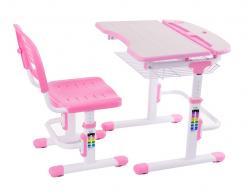 Парта со стулом Colore [Pink (розовый)] (Fun Desk)