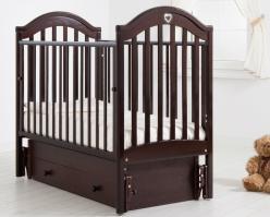 Кроватка К-2002-25м (Гандылян)