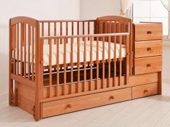 Кроватка КК-2010-Тм (Гандылян)