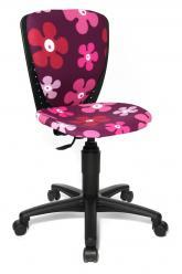 Компьютерное кресло Scool 3 70570 [Цветочки] (Гауди)
