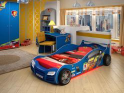 Комплект детской мебели Рейсер К1 [Синий] (Грифон)