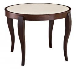 Обеденный стол «ЭЛИС 100-К» [Вишня / Иск. камень GSR 9923] (Лидер)