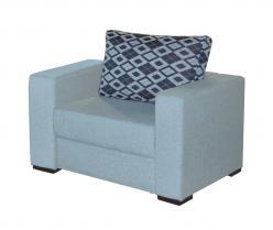 Кресло Джерман 1 [Джой 21 / Джой харвард 21 (подушки), 1 кат.] (Мебель-Холдинг)