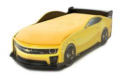 Кровать-машина Камаро [Желтый] (МебеЛев)