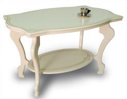 Чайный стол Берже-1 слоновая кость [Слоновая кость] (Мебелик)