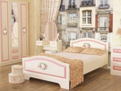 Кровать  Алиса (Кровать 1,2х2,0) МКА-010 (Мебельсон)