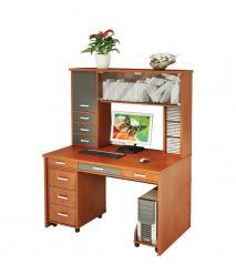 Компьютерный стол СП-80 СМ + СП-80 Н + СП-30 П + ТС-1 (Мэрдэс)