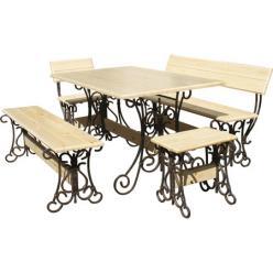 Комплект садовой мебели Лира-К2 (лак) [Массив сосны (лак)] (МФДМ)