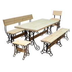 Комплект садовой мебели Лира-К2 [Массив сосны (лак)] (МФДМ)