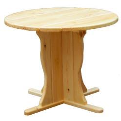Садовый стол Магнолия Стол деревянный круглый (МФДМ)