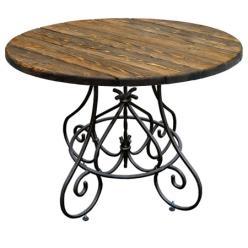 Садовый стол Стол кованый круглый Магнолия (МФДМ)