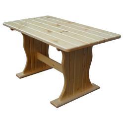 Садовый стол Уют (лак) Стол деревянный (МФДМ)